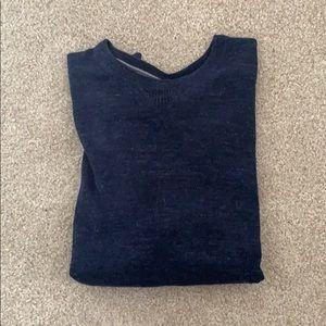 Tommy Hilfiger Navy Blue Sweater
